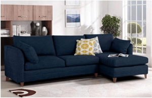 Furny Farina Spacious FHD529 Four Seater Sofa