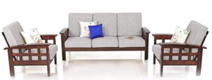 best teak wood sofa sets in india